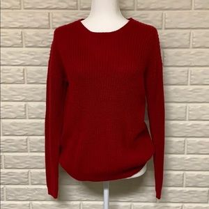 F21 Comfy Red Sweater